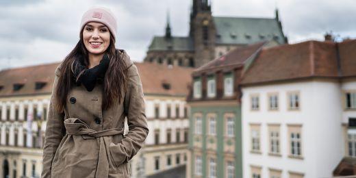 Johana Bojanovská je hlavní organizátorka stojící za Student Hubem a zároveň prezidentka Munie.