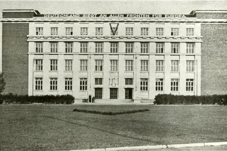 The Faculty of Law of the MU was taken by the Gestapo during the war.