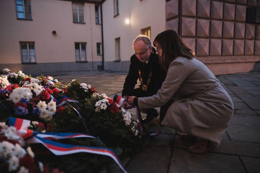 Za Pedagogickou fakultu MU děkan Jiří Němec aZuzana Szabó Lenhartová.