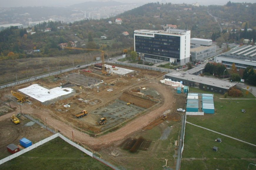 The start of the construction of the University Campus at the beginning of the millennium.