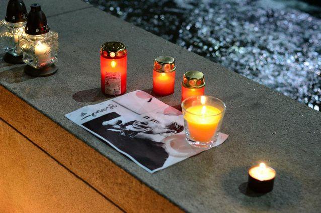 Pietní setkání uctilo památku zesnulého prezidenta Václava Havla. Foto: Martin Kopáček.