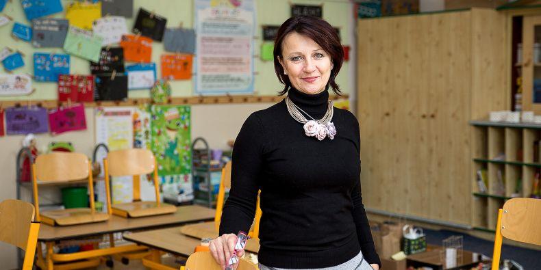 Jana Klodnerová má ve třídě 24 dětí, o kterých se dá mluvit jako o nadaných, i když sama má raději označení bystré.