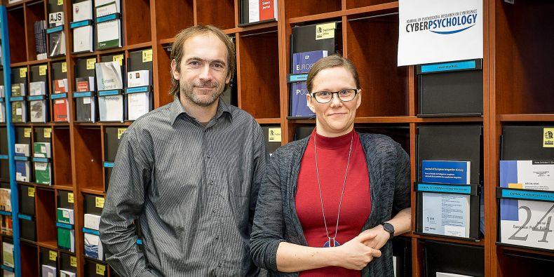 Časopis Cyberpsychology vedou David Šmahel a Lenka Dědková. Dokázali s ním získat mezinárodní věhlas.