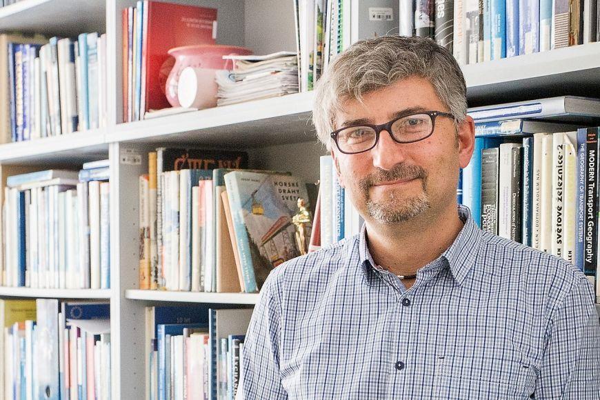 Prorektor pro vnější vztahy aceloživotní vzdělávání MU Martin Kvizda.