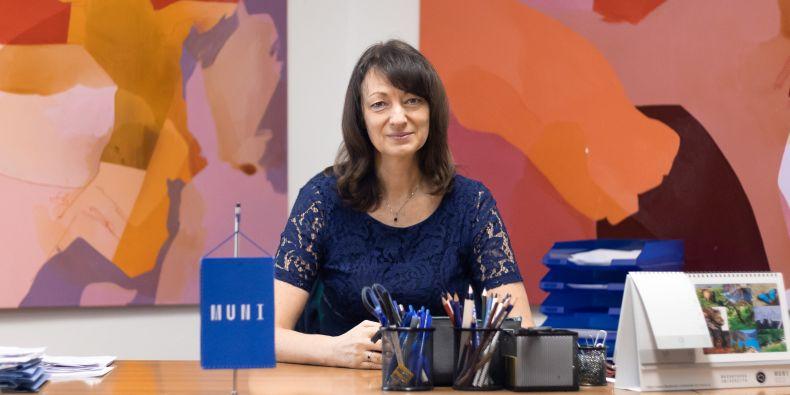 Prorektorka pro záležitosti studentů a absolventů MU Simona Koryčánková.