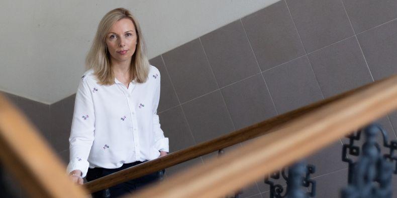 Vedoucí personálního oddělení Barbora Šolcová.