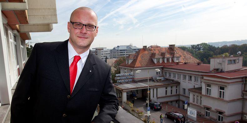 Ředitel Nemocnice na Bulovce Petr Zajíc.
