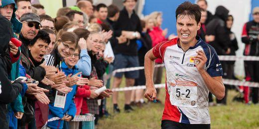 Orientační běžec Jan Petržela.