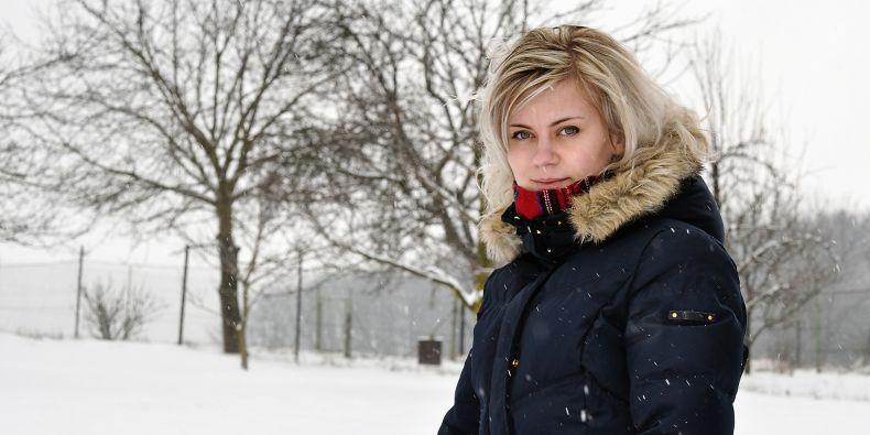 Doktorandka přírodovědecké fakulty Barbora Obstová, která stojí za českou verzí pylového diáře.