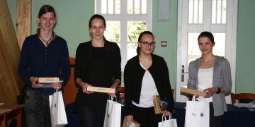 Vítězný tým. Garnáti z Gymnázia Matyáše Lercha.