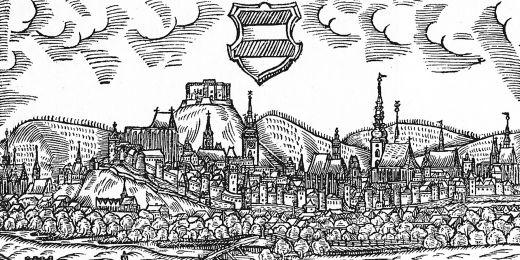 První vyobrazení města Brna pochází až ze závěru 16. století.