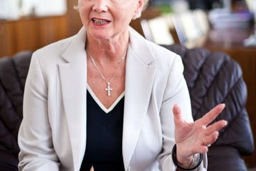 Pouze nezávislý soudce je schopen ubránit jednotlivce proti nepoměrně silnějšímu státu, říká Brožová. Foto: Ondřej Surý.