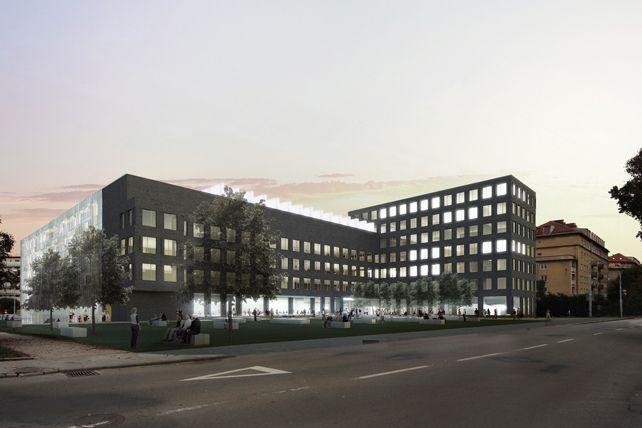 Na přestavbu čelní budovy fakulty informatiky do ulice Botanická bezprostředně naváže vědeckotechnický park apodnikatelský inkubátor.