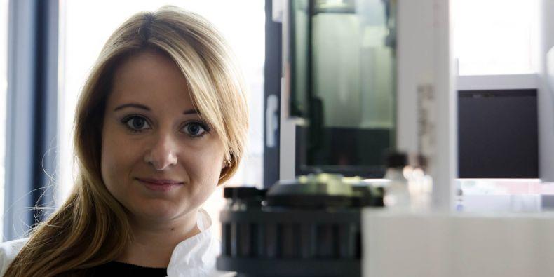 Veronika Štěpánková pracuje v Loschmidtových laboratořích v bohunickém kampusu.