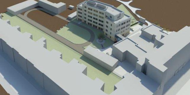 Stavbou nové budovy v areálu na Poříčí 31 získá PdF prostory pro činnost pěti vědeckých institutů i pro knihovnu.
