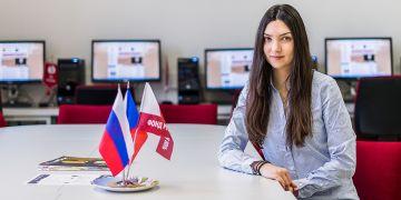 Radka Tesařová už doma, v ruském centru na Pedagogické fakultě MU.