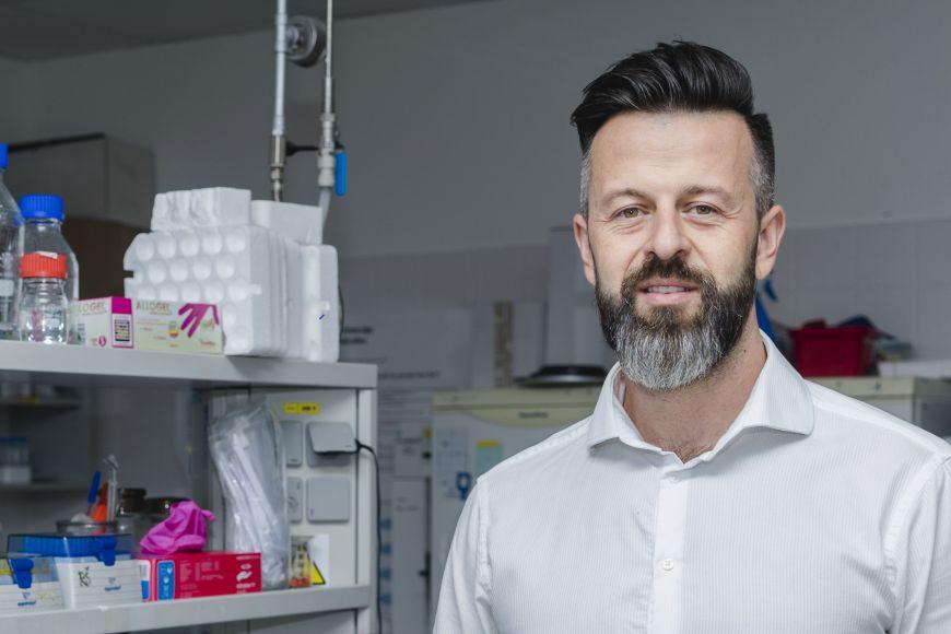 Strukturní biolog Richard Štefl.