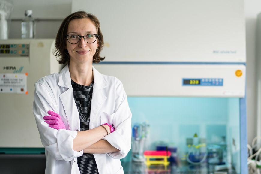 Pavlína Janovská působí na ústavu experimentální biologie vtýmu Vítězslava Bryji.