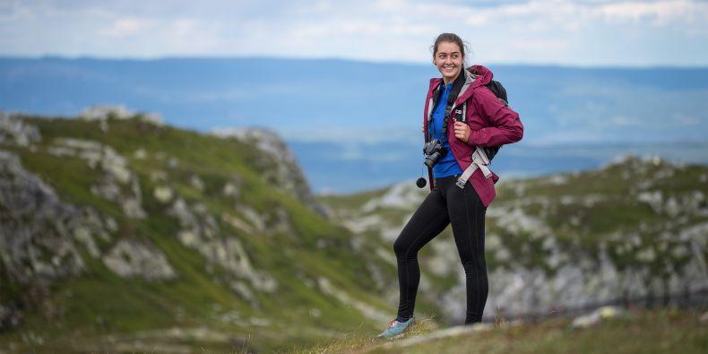 Eva Schmiedová i přes koronavirovou situaci zvládla procestovat téměř celé Norsko.
