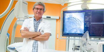Petr Kala na operačním sále ve FN Brno.