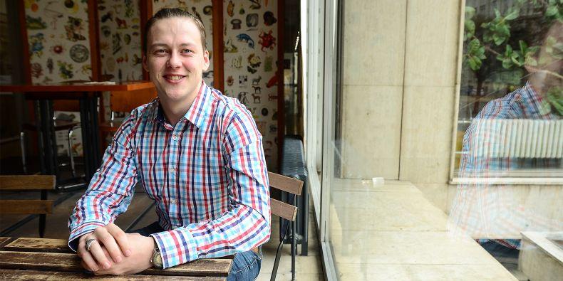 Cestování má student Fakulty sociálních studií MU Jiří Němec v krvi.