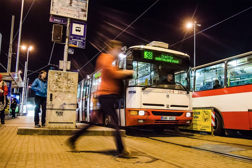 Brněnské noční rozjezdy obsáhnou téměř celé město.