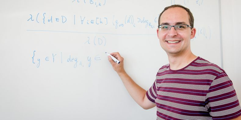 Daniel Kráľ has a course called Computability and Complexity. However, he has also bigger teaching ambitions with colleagues from Prague and Poland – to start an intensive PhD programme.