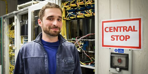 Člen bezpečnostního týmu CSIRT-MU Jan Soukal.
