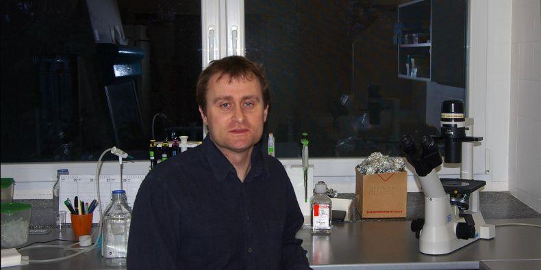 Dalibor Blažek z Ceitecu Masarykovy univerzity.