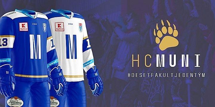 HC MUNI vyjede do letoší sezony v nových dresech.
