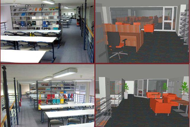 V knihovně ESF se rozšíří prostory pro samostudium.