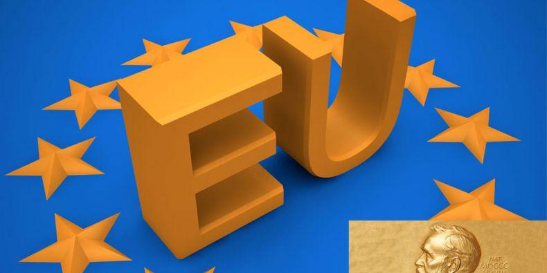 Nobelova cena za mír udělená Evropské unii rozděluje společnost. Foto: www.sxc.hu a Jonathunder/wikipedia.