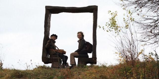 Studenty čekají iexkurze do úspěšných ekologických podniků vČesku. Navštíví třeba zelenou obec Hostětín. Foto: Archiv EkoInkubátoru.