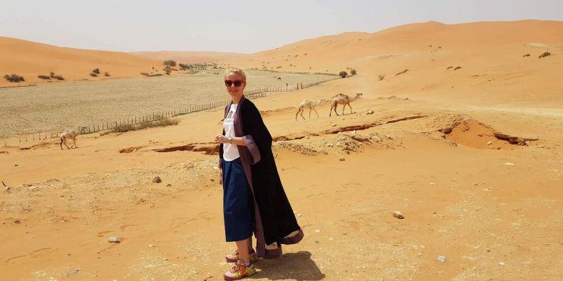 """""""Pro Saúdskou Arábii jsem se rozhodla na doporučení kamarádky, která tam už pracovala. Chtěla jsem si zkusit, co obnáší práce zdravotníka v zahraničí,"""" popisuje Veronika Vasilcová."""