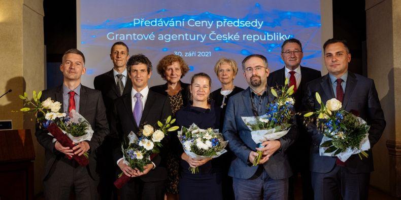 Laureáti Ceny předsedy Grantové agentury České republiky.
