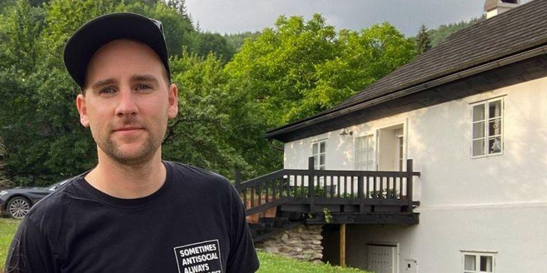 Patrik Gažo, a PhD student at the MU Faculty of Social Studies