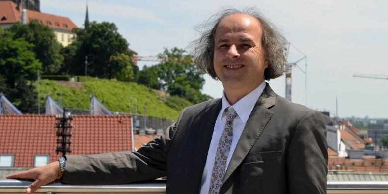 Nový ředitel Mezinárodního centra klinického výzkumu Gorazd B. Stokin.