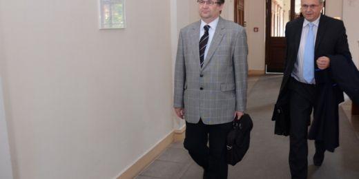 Horyna ani jeho obhájce nechtěli rozsudek komentovat. Mohou ještě podat dovolání k nejvyššímu soudu. Foto: David Povolný.