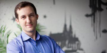 Manažer Jihomoravského inovačního centra Michal Hrabí.