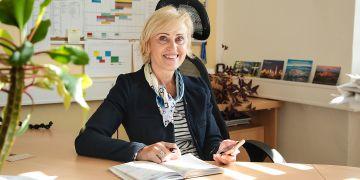 Cílem Jany Kratochvílové je mimo jiné více propojit Pedagogickou fakultu MU se spolupracujícími školami.