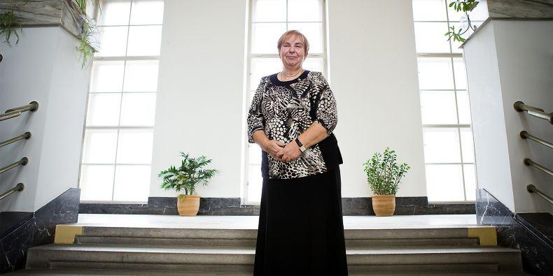 Profesorka Zdeňka Gregorová.