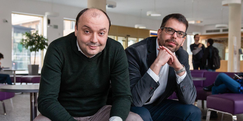 Radim Polčák a Matěj Myška se zabývají právem ve spojení s technologiemi.