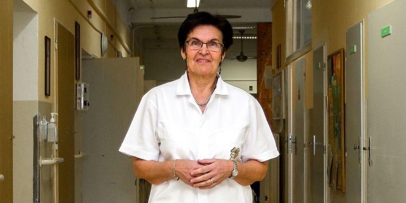 Hana Matějovská Kubešová, přednostka Kliniky interní, geriatrie a praktického lékařství Lékařské fakulty MU a Fakultní nemocnice Brno.