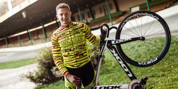 Dráhový cyklista Robin Wagner studuje na fakultě sportovních studií.