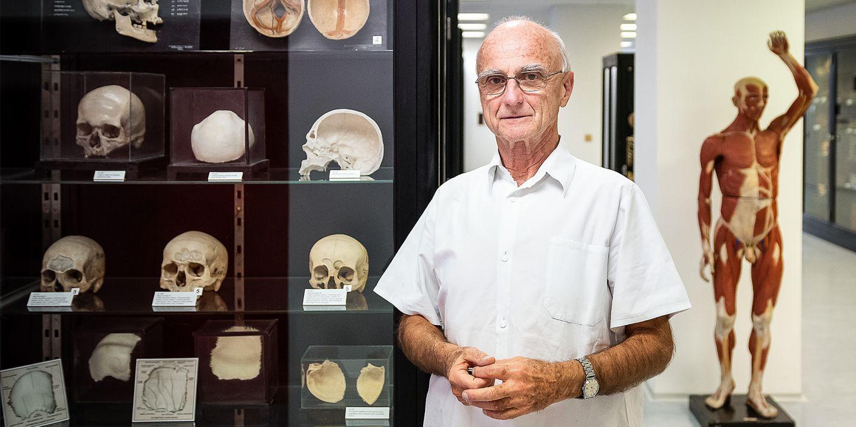 Pavel Matonoha působí na Anatomickém ústavu Lékařské fakulty MU už od svých studií, kdy pomáhal ve výuce.