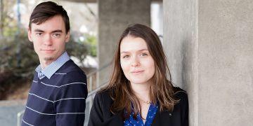Martin Laštovička a Lucie Pešková patří mezi špičkové doktorandy Masarykovy univerzity. Oba na svou práci získali podporu města Brna.