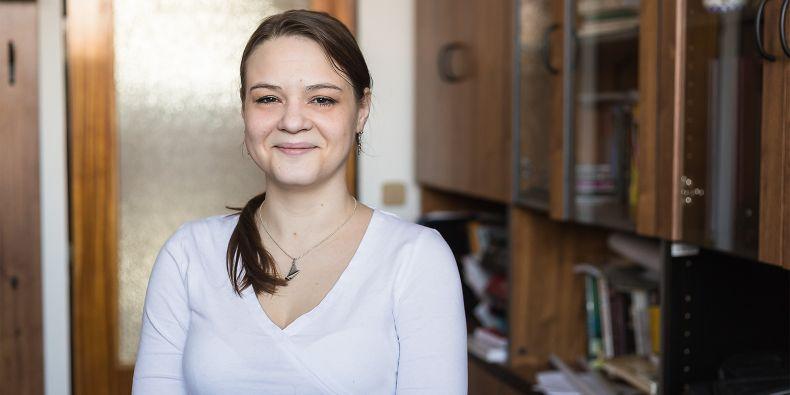 Tereza Pařilová se ve studiu a výzkumu prosadila navzdory tomu, že má diabetes mellitus 1. typu, kvůli kterému téměř přestala vidět.