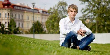 Zakladatel Mise naděje, čerstvý absolvent ESF Daniel Vodrážka.