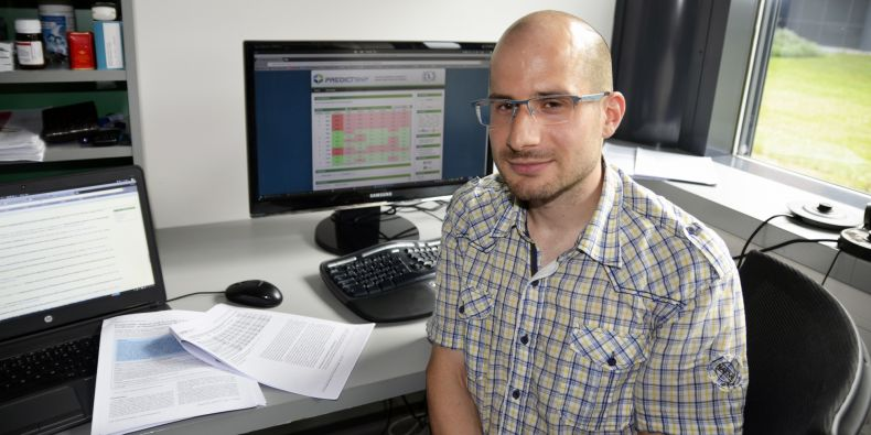 Jaroslav Bendl z Přírodovědecké fakulty MU je jedním z tvůrců nového portálu.