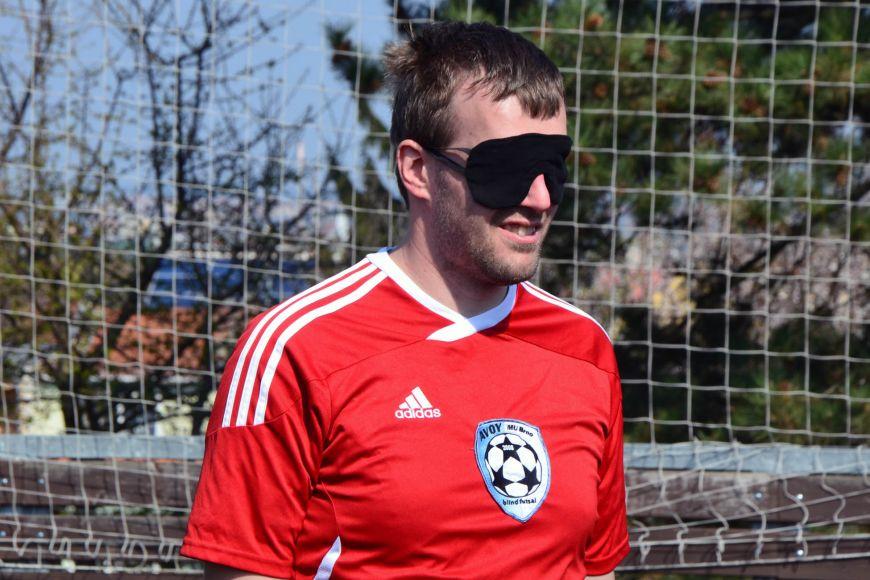Jiří Fenz se věnuje futsalu nevidomých už několik let.